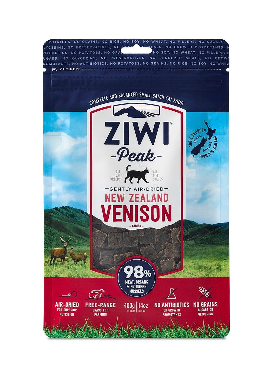 Ziwi-Peak-Air-Dried-For-Cats-400g-single-protein-allergies-real-meat