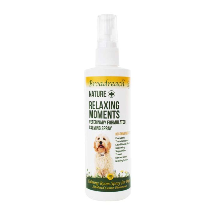 Nature + Relaxing Moments Calming Room Spray for Dogs and Puppies –236ml