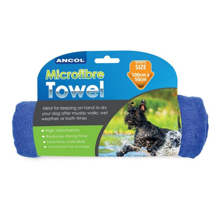 Microfibre Super Absorbant Pet Towel 100 x 50 cm
