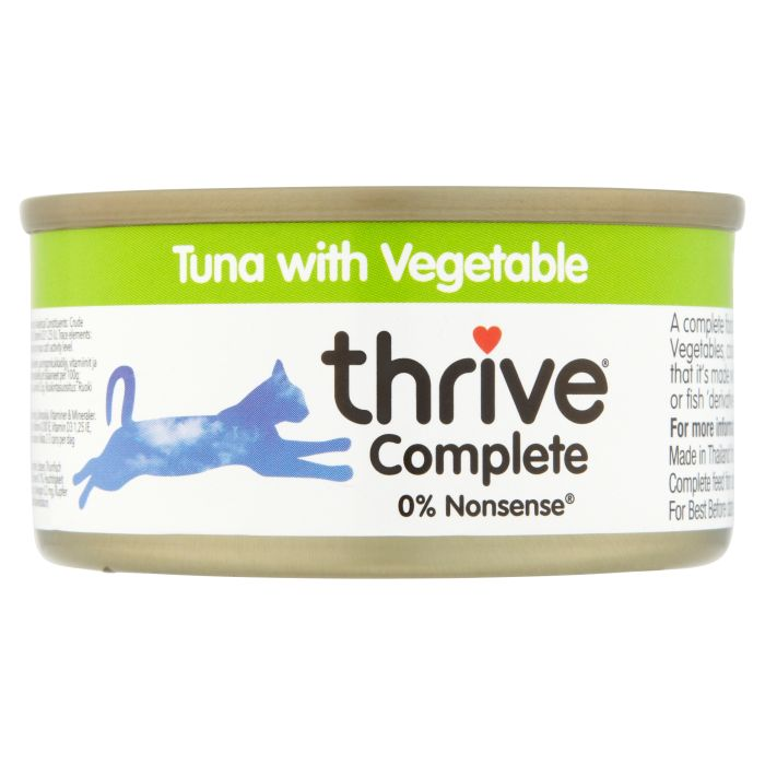 Thrive Complete Cat Food Tuna with Vegetable 75g