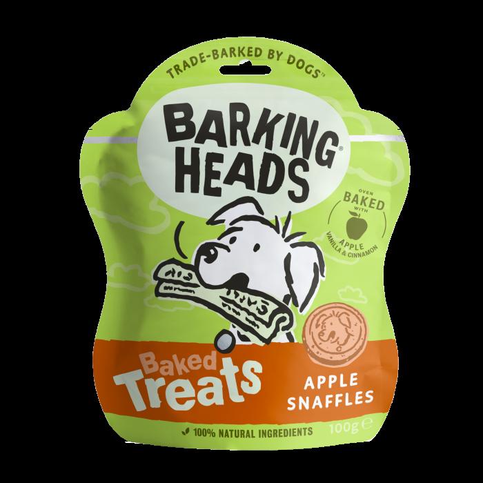 Apple Snaffles - Baked Dog Treats 100g