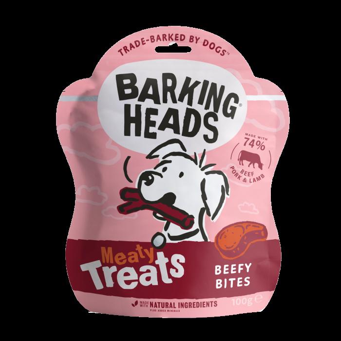 Beefy Bites - Meaty Dog Treats 100g