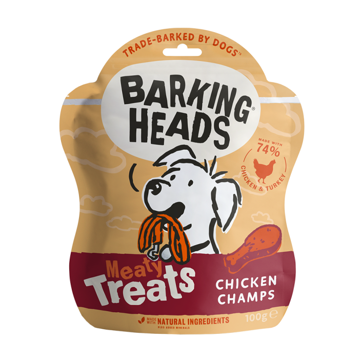 Chicken Champs - Meaty Dog Treats 100g