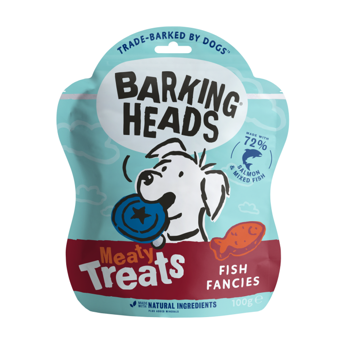 Fish Fancies - Meaty Dog Treats 100g