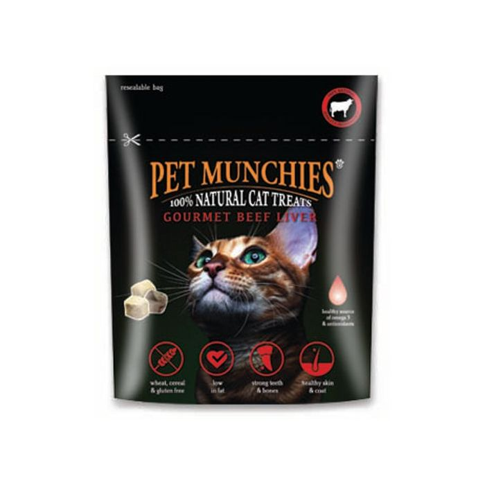 Pet Munchies Gourmet Beef Liver for Cats - 10g
