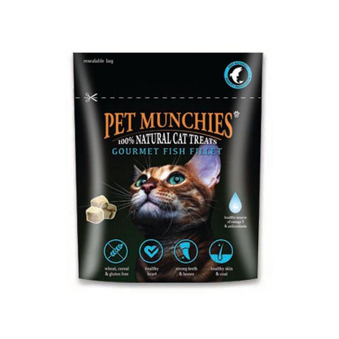 Pet Munchies Gourmet Fish Fillet for Cats - 10g