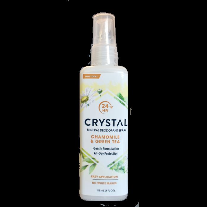 Crystal Mineral Deodorant Spray Chamomile & Green Tea 118ml