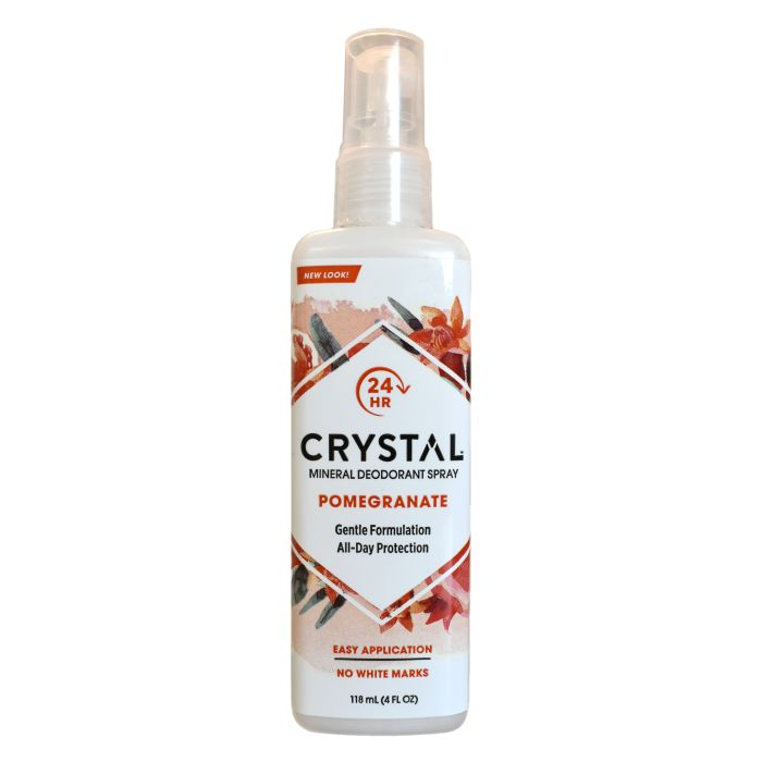 Crystal Mineral Deodorant Spray Pomegranate 118ml