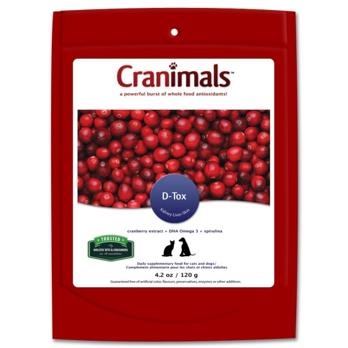 Cranimals D-Tox for Dogs & Cats 120g