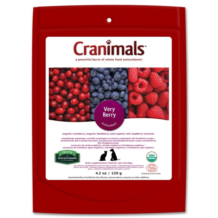 Cranimals Very Berry for Cats & Dogs 120g