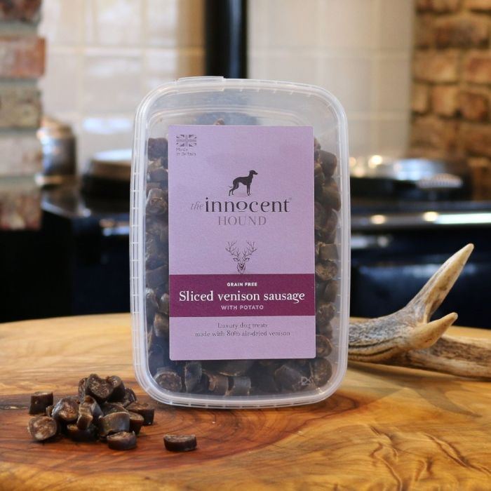 Sliced Venison Sausage Luxury Treats for Dogs 600g