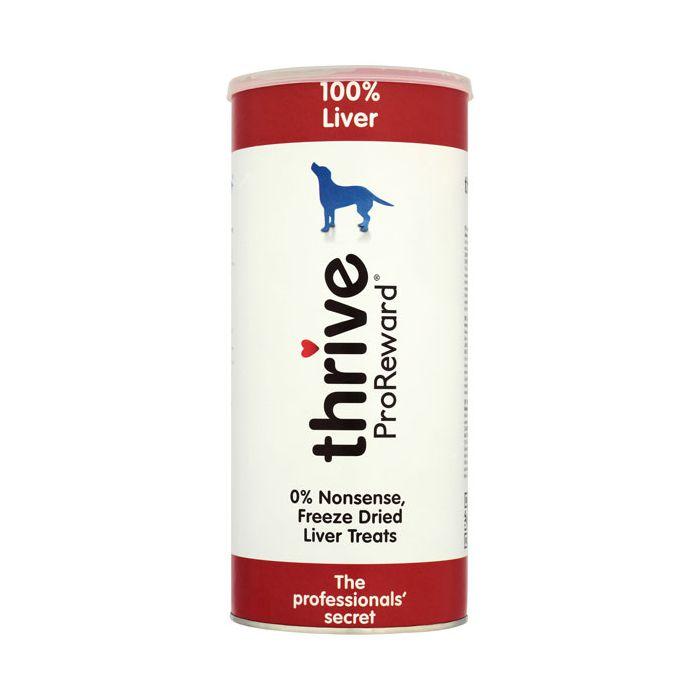 Thrive ProReward 100% Liver Dog Treats 500g Maxi Tube