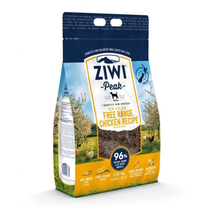 Ziwi Peak Air-Dried Free-Range Chicken Food For Dogs