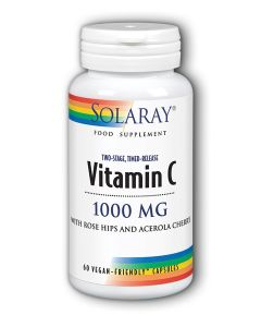 Vitamin C 1000 mg Two Stage, Time Release