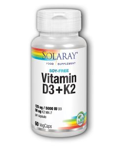 Vitamin D-3 & K-2 60 Capsules