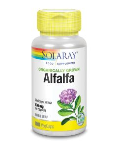 Organically Grown Alfalfa 430mg