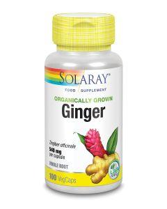 Organically Grown Ginger 540mg