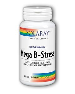Mega B-Stress 60 vegan caps