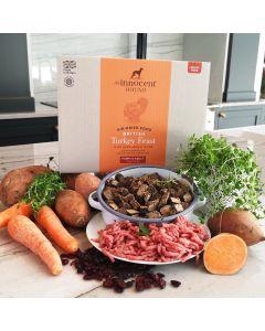 Air Dried British Turkey Feast Puppy & Adult Dog Food 3kg