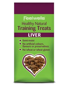 Healthy Natural Dog Training Treats - Liver 115g