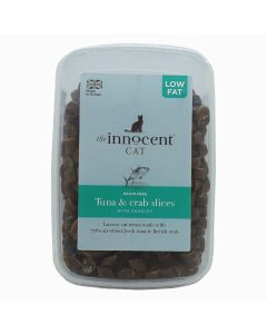 Tuna & Crab Slices with Parsley Luxury Treats for Cats 600g