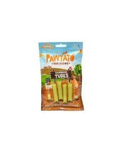 Pawtato Seaweed Tubes Sweet Potato & Rice Dog Chews 90g