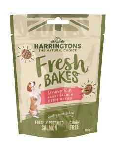 Natural Wholesome Salmon Fish Bites for Dogs 100g