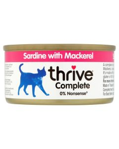 Thrive Complete Cat Food Sardine with Mackerel 75g