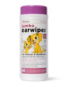 Ear Wipes 80 Jumbo Sheets