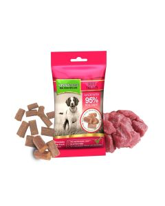 Beef Moist Dog Treats 60g