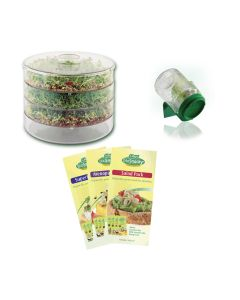 Biosnacky Germinator & 4 Pack of seeds