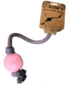bEcoBall with Rope Pink