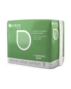 Comforts Discreet Bladder Control Pads 10 Pack - Normal