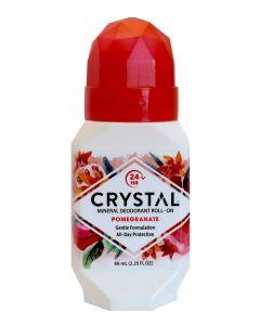 Crystal Mineral Deodorant Roll On Pomegranate 66ml