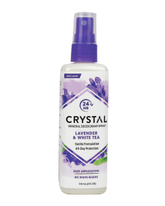 Crystal Mineral Deodorant Spray Lavender & White Tea 118ml