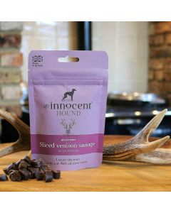 Sliced Venison Sausage Luxury Treats for Dogs 70g