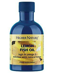 Lemon Fish Oil 200ml