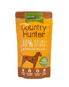 Country Hunter Free Range Chicken with Superfoods Dog Pouches 150g