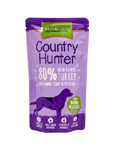 Country Hunter Farm Reared Turkey Dog Pouches 150g