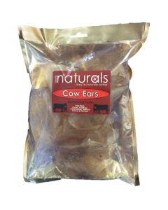 Cow Ears 100% Natural Dog Treat Chew 8 Pack