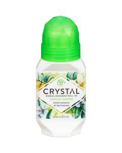 Crystal Mineral Deodorant Roll On Vanilla Jasmine 66ml