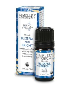 Blissful and Bright Organic Essential Oil Blend 5ml