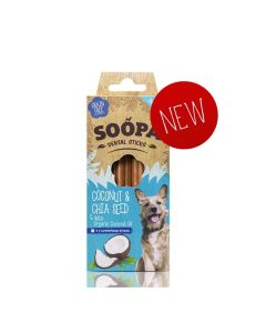 Dental Sticks Coconut & Chia Seed with Organic Coconut Oil 4 Pack