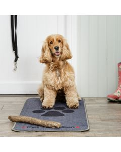 Stop Muddy Paws - Grey - Floor Mat