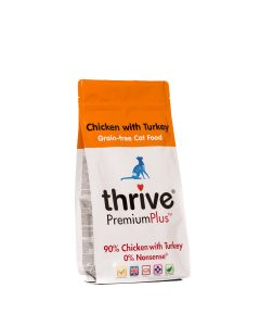Thrive PremiumPlus Complete Dry Cat Food Chicken & Turkey 1.5kg
