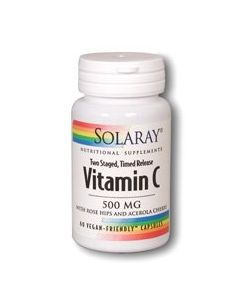Vitamin C 500 mg Two Stage, Time Release