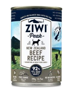 Ziwi Peak Moist Beef For Dogs 390g