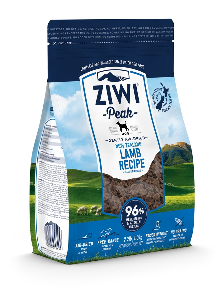 thumbnail 5 - Ziwi Peak Air-Dried Lamb Food For Dogs single protein allergies real meat