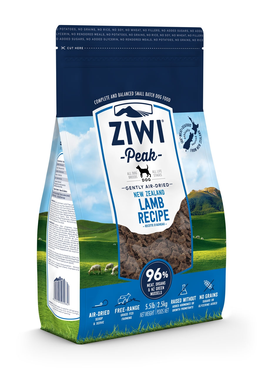 thumbnail 4 - Ziwi Peak Air-Dried Lamb Food For Dogs single protein allergies real meat