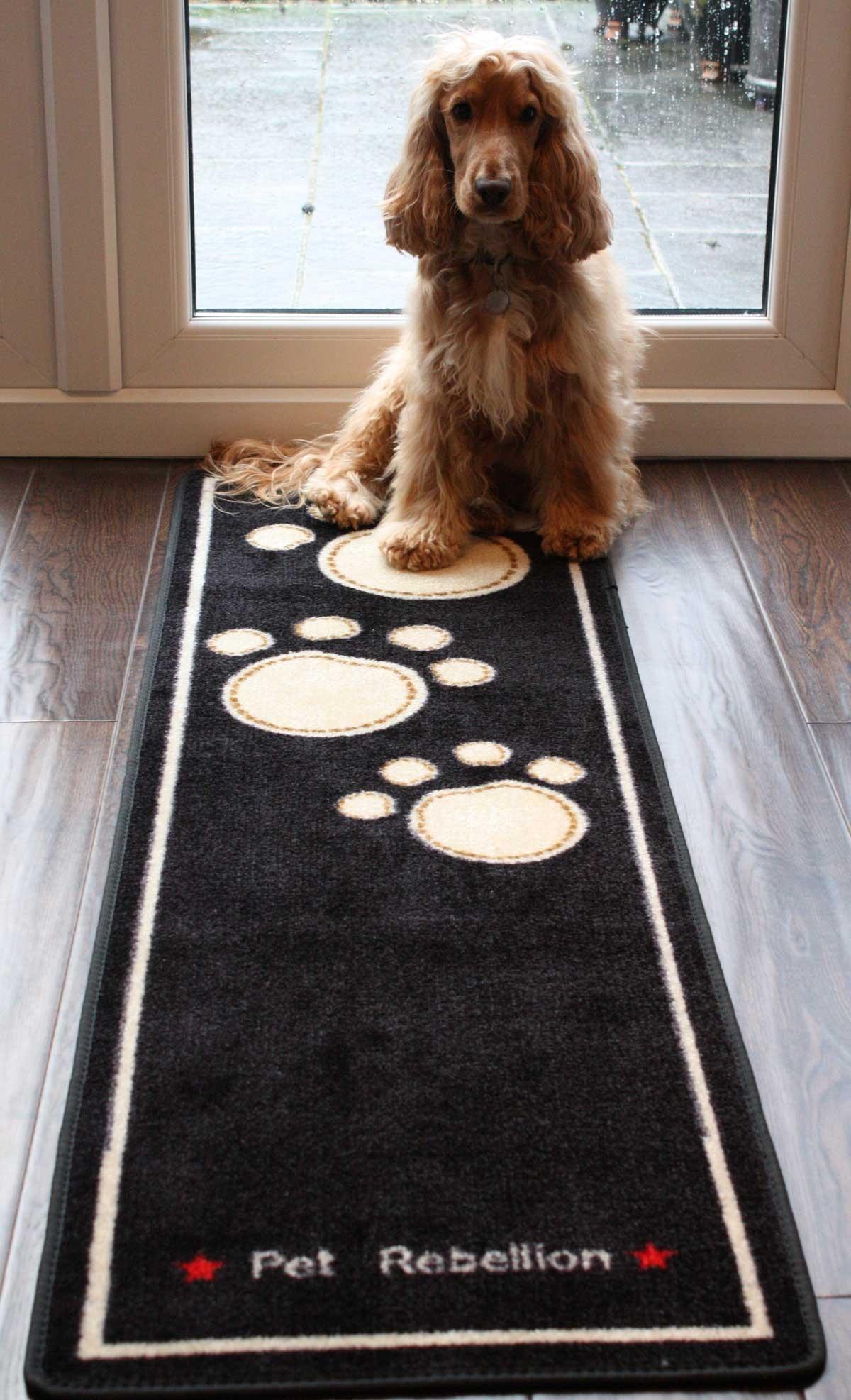 Pet Rebellion Runner Stylish Amp Fun Floor Mat Dog Cat